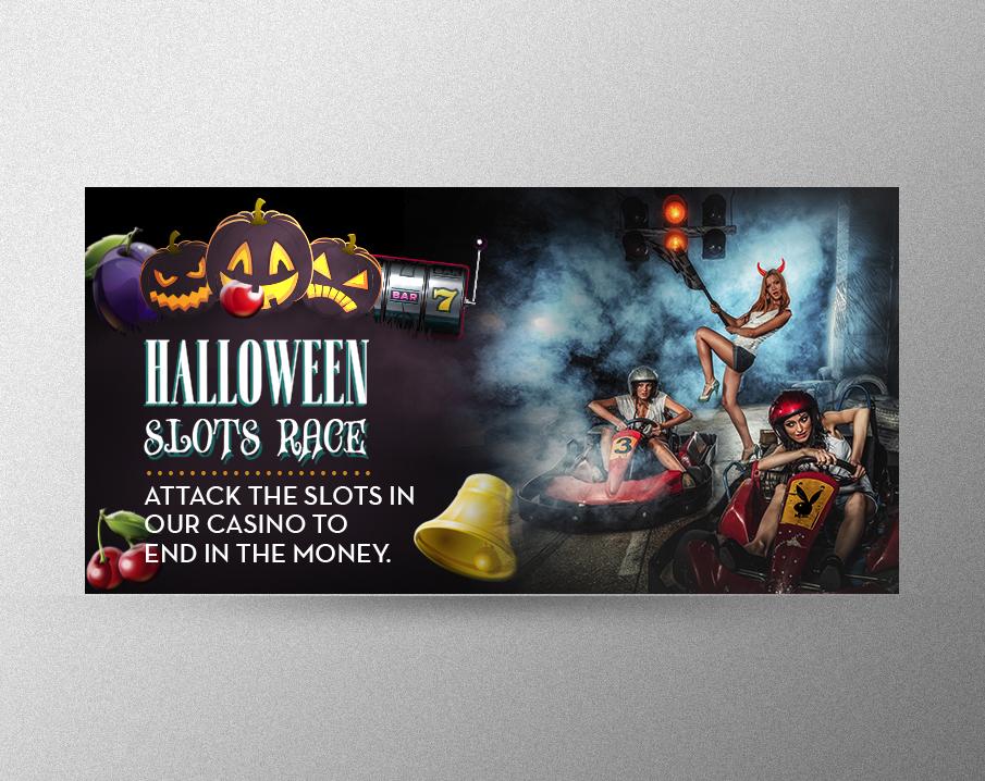 Halloween Slots Race
