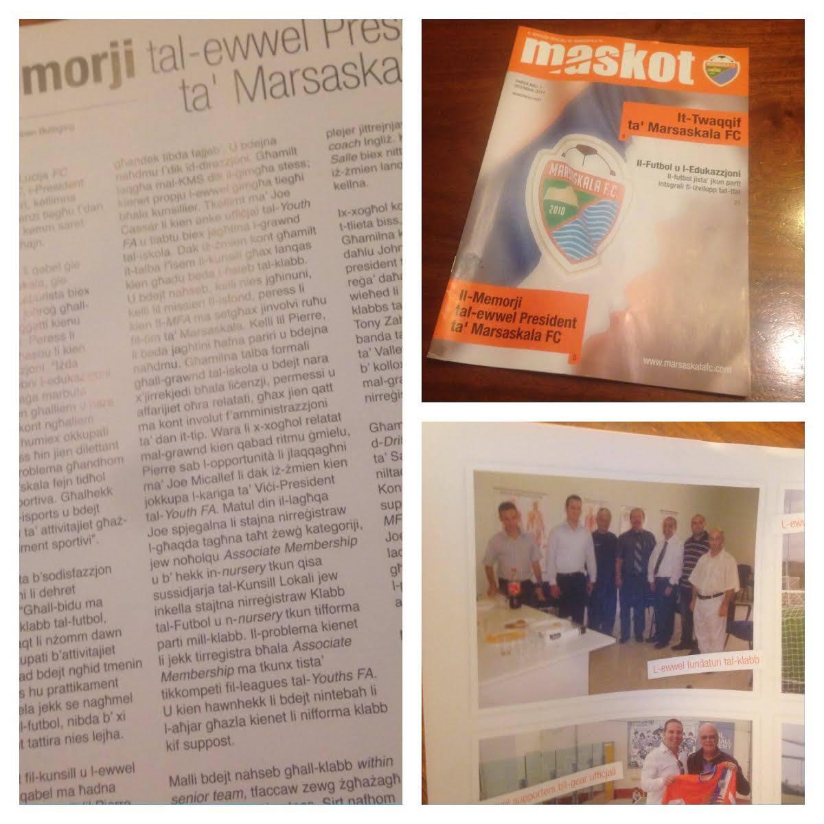 Maskot Magazine